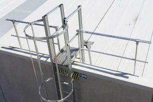 escaleras de seguridad para edificios