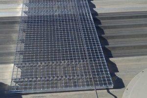 protecciones colectivas en cubiertas para realizar trabajos en altura