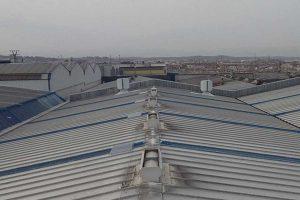 Protecciones colectivas en cubiertas frágiles para trabajar con seguridad