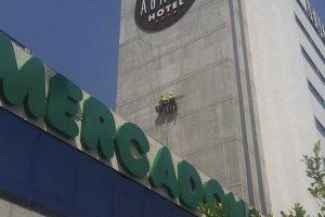 empresas de trabajos verticales para colocar logotipos