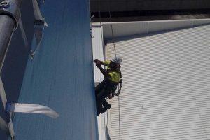 Trabajo vertical con cable