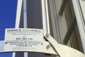 escaleras de acceso de workprotec