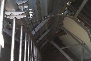 linea de vida para escaleras verticales