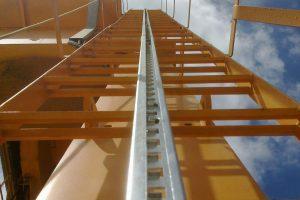 Línea de vida vertical