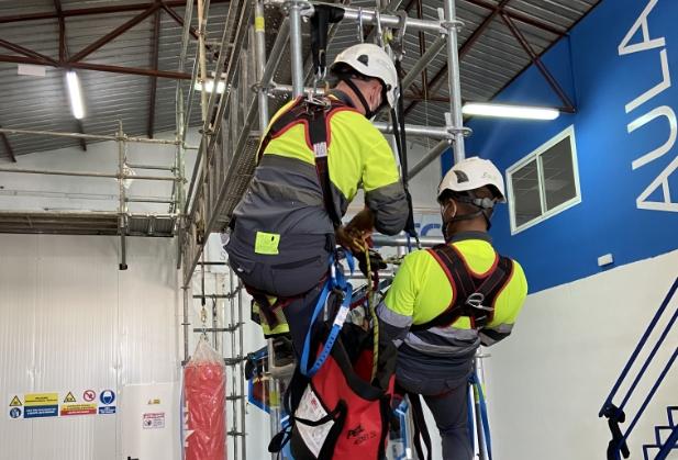 curso rescate vertical