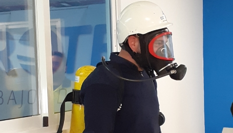 equipo respiracion autonoma