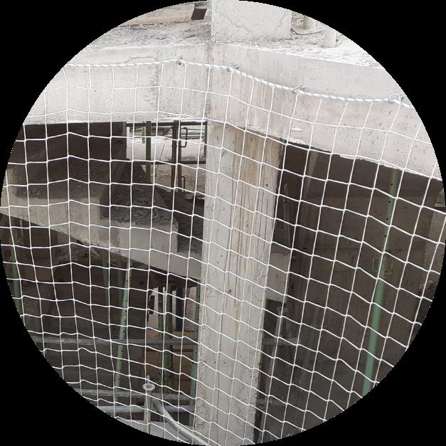 redes de protección anticaídas
