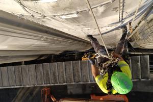 trabajo vertical con seguridad