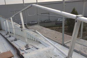 barandilla para instalar placas fotovoltaicas