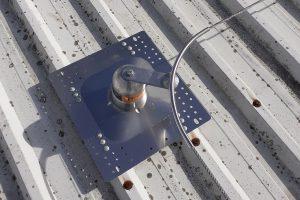 líneas de vida horizontales para instalar placas fotovoltaicas