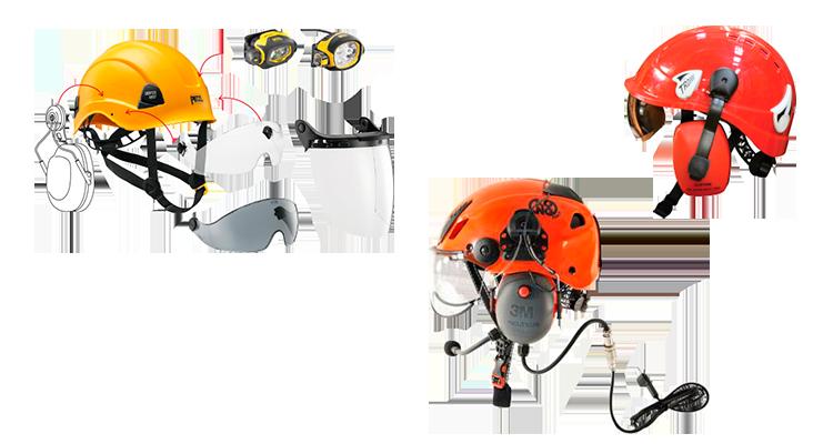 accesorios cascos protectores