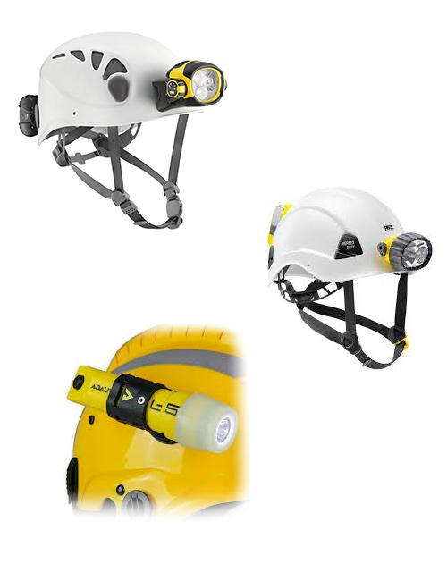 iluminación para casco