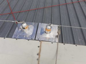 puntos de anclaje sobre cubiertas