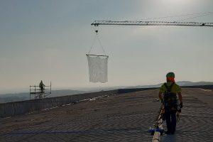redes de seguridad para trabajos en altura